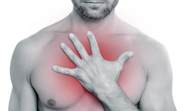 Жжение в груди или молочной железе - в центре или слева: причины