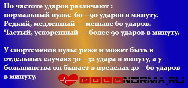 Пульс 55 ударов в минуту хорошо или плохо, причины и нормально ли это