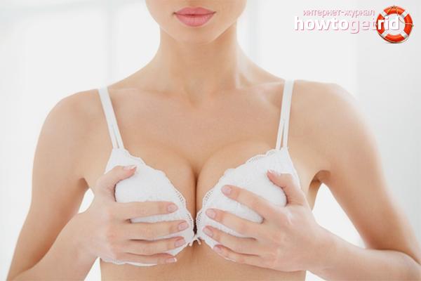 Как увеличить грудные железы в домашних условиях: советы и видео